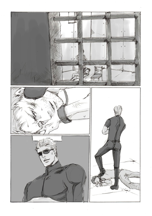 albert redfield x chris wesker Little witch academia sucy hentai