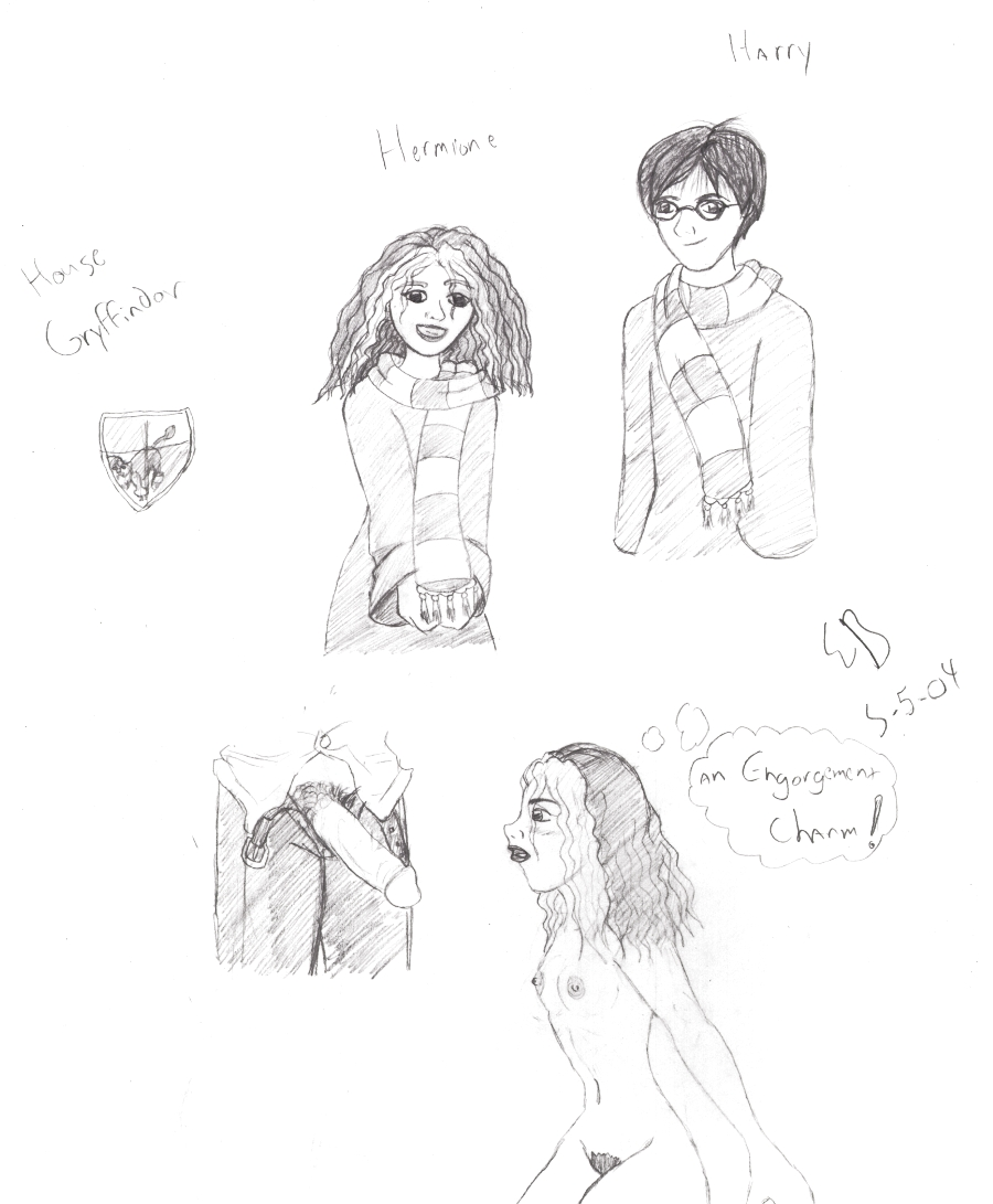 potter hermione harry naked from Spyro and cynder mating fanfiction