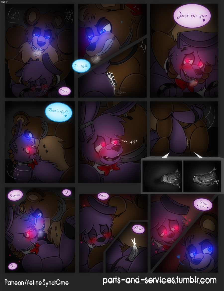 comics freddy's five sex nights at Under night in birth sion