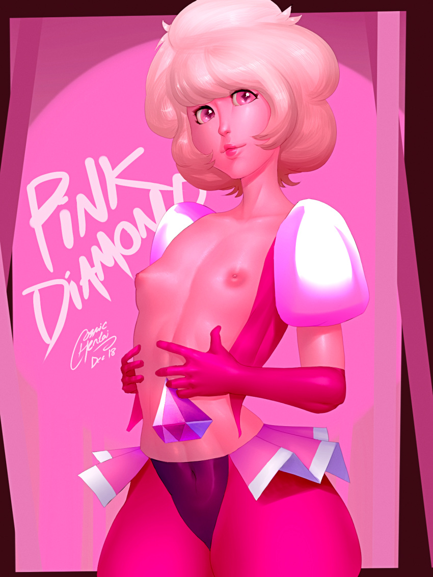 pink diamond universe steven from How to get over heaven in project jojo