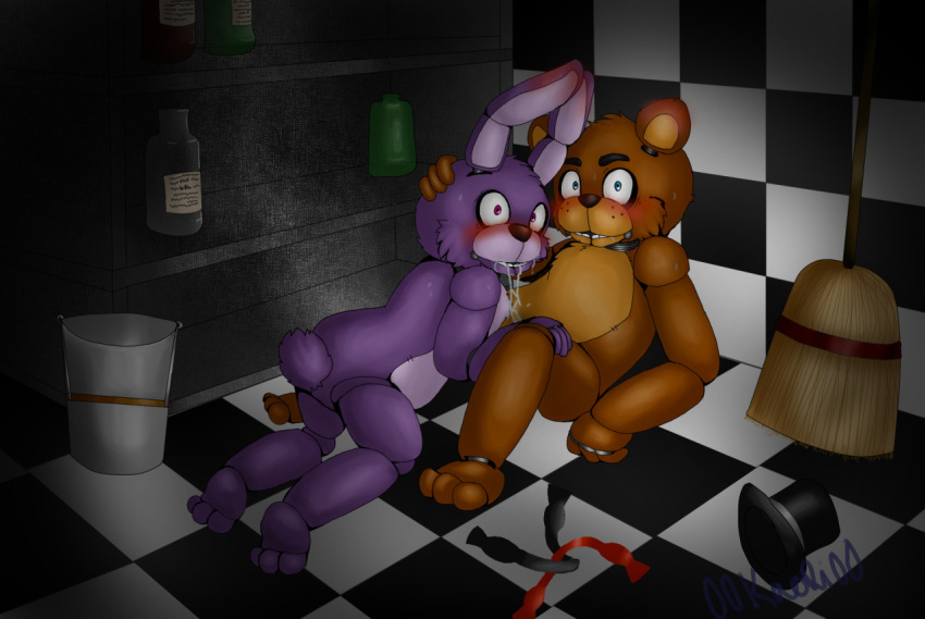 of bonnie five pictures nights at freddy's Courage the cowardly dog bone