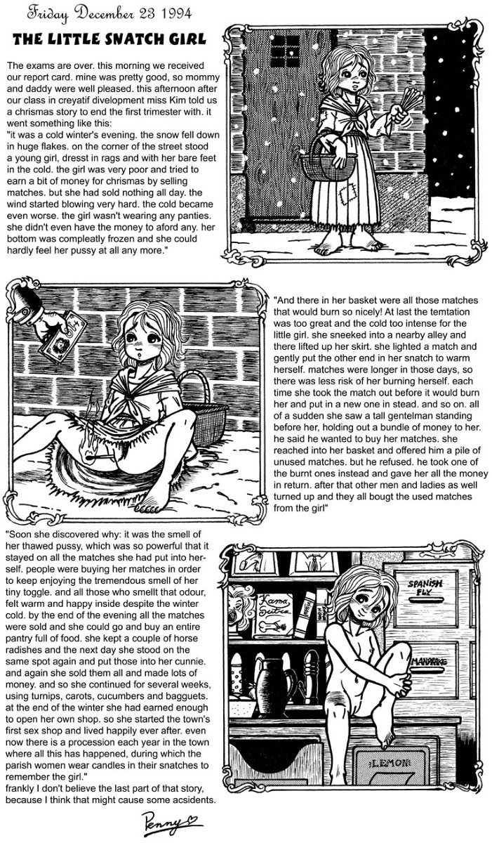 girl little lenore cute dead Sawney and bean attack on titan