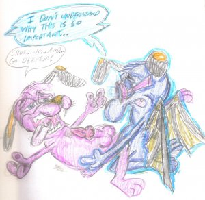 dog from katz the courage cowardly Digimon story cyber sleuth