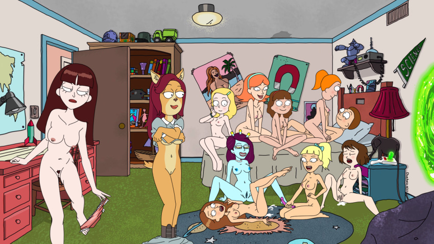 morty naked rick and jessica Star vs the forces of evil nude